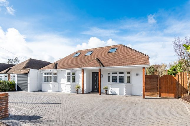 Thumbnail Detached bungalow for sale in Manor Farm Avenue, Shepperton