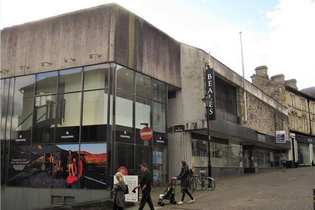 Thumbnail Retail premises for sale in 37-55 Finkle Street, Kendal, Cumbria