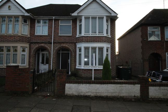 Thumbnail End terrace house to rent in Galeys Road, Coventry