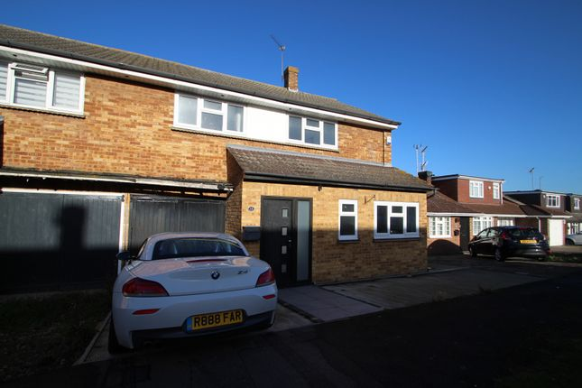 Thumbnail Semi-detached house for sale in Middle Boy, Abridge, Romford