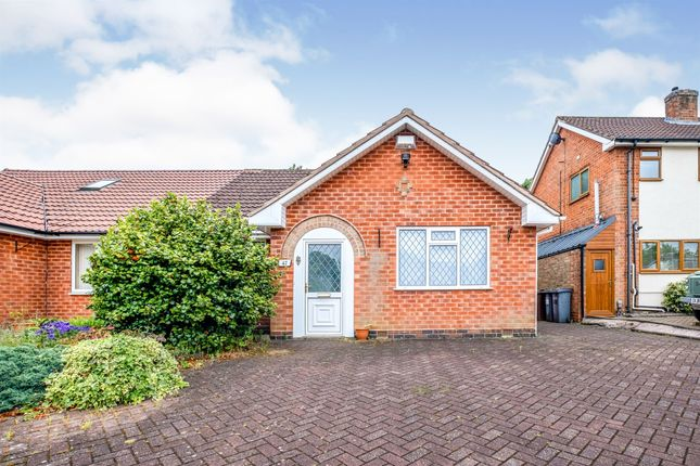 Thumbnail Semi-detached bungalow for sale in Berkswell Close, Solihull