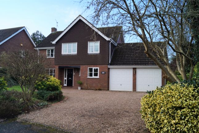 Thumbnail Detached house for sale in Link Elm Close, Worcester