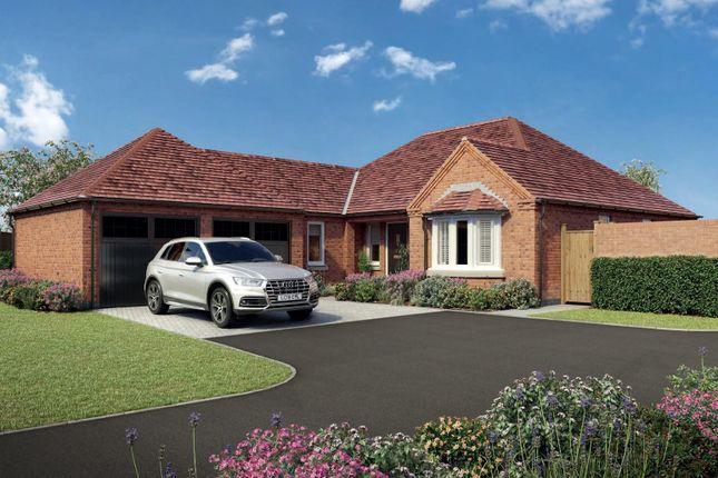Thumbnail Detached bungalow for sale in Worthington Lane, Newbold Coleorton, Coalville
