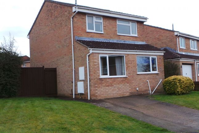 Thumbnail Detached house to rent in Bracken Close, Lydney