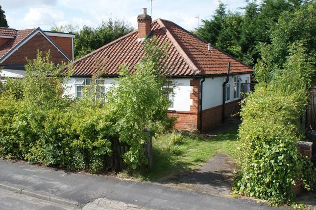 Thumbnail Detached bungalow for sale in Hawthorn Avenue, Haxby, York