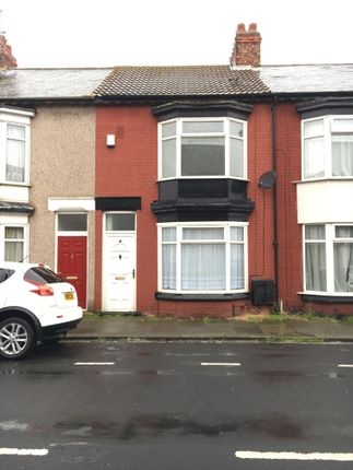 Thumbnail Terraced house to rent in Alfred Street, Redcar