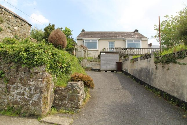 Thumbnail Detached bungalow for sale in Lower Well Lane, Helston