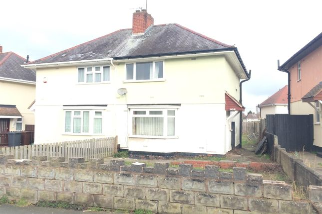Thumbnail Semi-detached house to rent in St. Annes Road, Wolverhampton