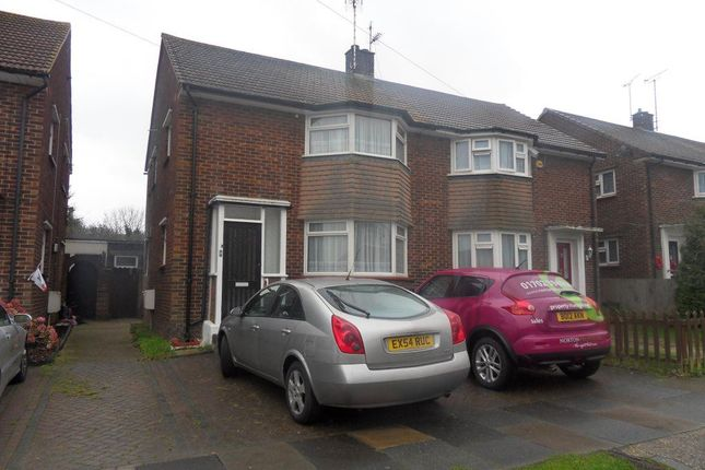 Thumbnail Semi-detached house to rent in Fairview Drive, Westcliff-On-Sea
