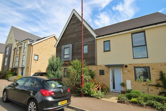 Thumbnail Semi-detached house to rent in Mosquito Road, Cambourne, Cambridge