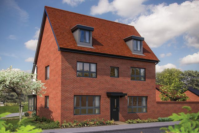"Thumbnail Detached house for sale in ""The Wolverton"" at Barrosa Way, Whitehouse, Milton Keynes"