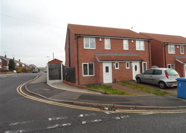 Thumbnail Semi-detached house to rent in Broomhill Lane, Mansfield