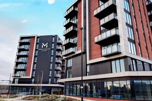 Thumbnail Flat to rent in Lockside Lane, Salford