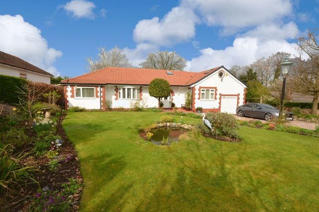 Thumbnail Detached bungalow for sale in Yew Tree Grove, Heald Green, Cheadle