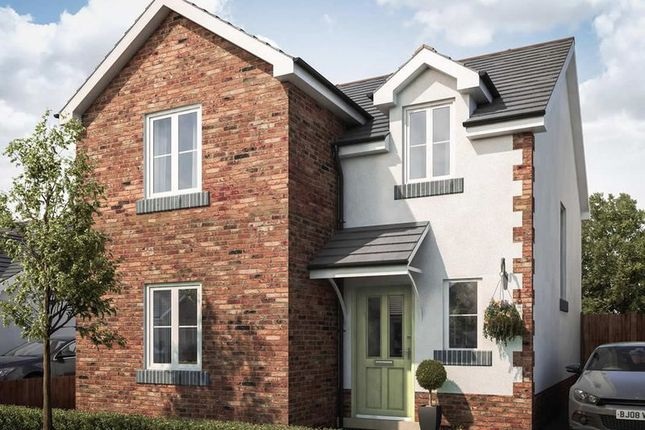 Thumbnail Detached house for sale in Plot 14, Rhosybonwen Road, Llanelli