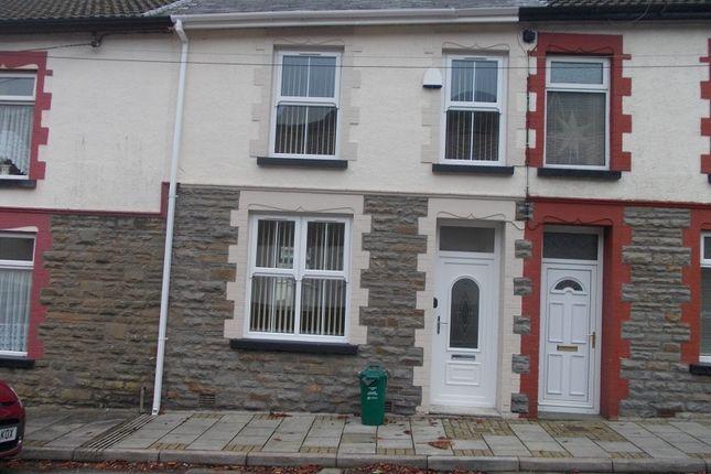 Thumbnail Terraced house to rent in William Street, Treherbert, Treorchy, Rhondda, Cynon, Taff.