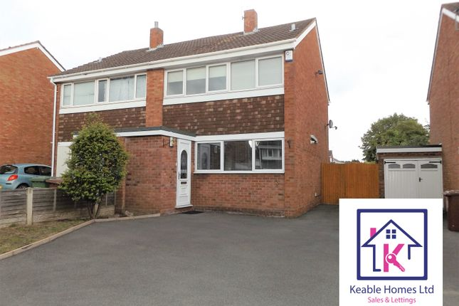 Thumbnail Semi-detached house to rent in Alpine Drive, Hednesford, Cannock