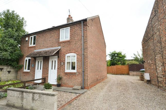 Thumbnail Semi-detached house to rent in Main Street, Barmby Moor, York