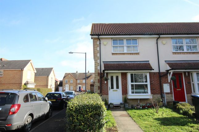 Thumbnail End terrace house for sale in Doulton Close, Church Langley, Harlow
