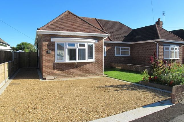 Thumbnail Semi-detached bungalow to rent in Camp Road, Gosport