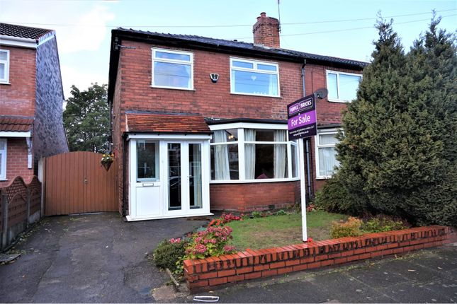 Thumbnail Semi-detached house for sale in Wyverne Road, Chorlton
