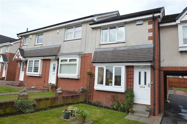 Thumbnail Terraced house for sale in Glenluce Gardens, Moodiesburn, Glasgow, Glasgow