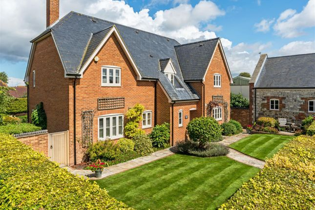 Thumbnail Detached house for sale in Whatleys Orchard, Bishopstone, Swindon