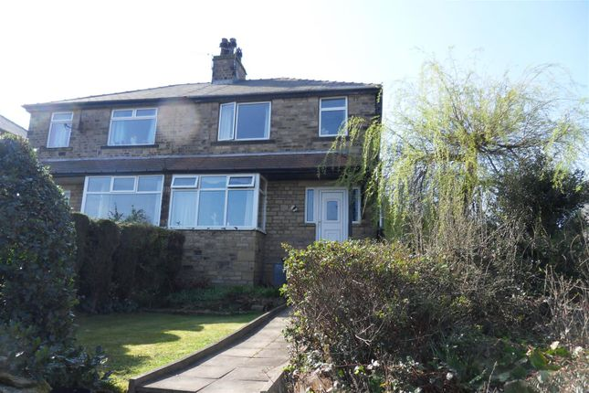Thumbnail Semi-detached house to rent in Rocklands Avenue, Baildon, Shipley