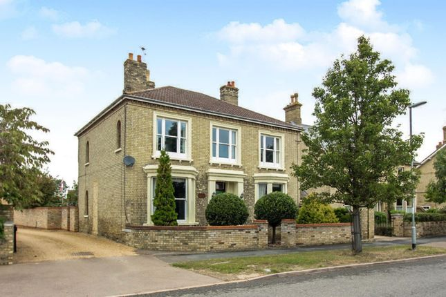 Detached house for sale in High Street, Warboys, Huntingdon, Cambridgeshire