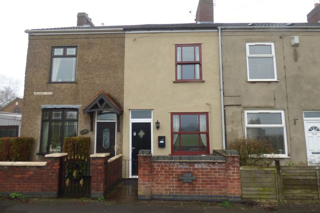 2 bed terraced house to rent in Richmond Road, Ibstock LE67