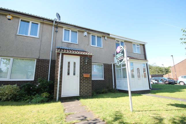 Thumbnail Terraced house to rent in Sheen Court, Newcastle Upon Tyne