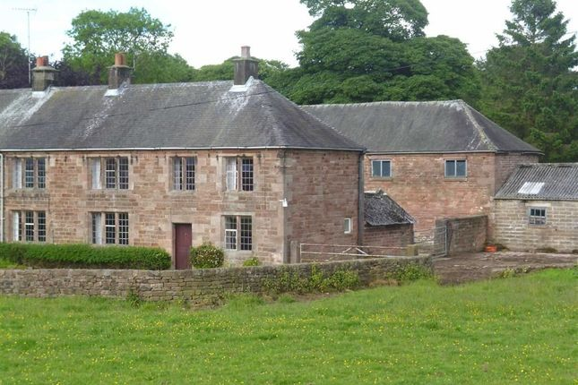 Thumbnail Semi-detached house for sale in Belmont Farm, Ipstones, Staffordshire