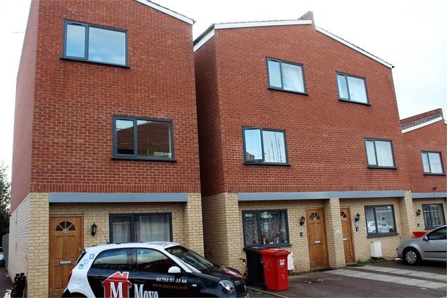 Thumbnail End terrace house to rent in Farnburn Avenue, Slough, Berkshire