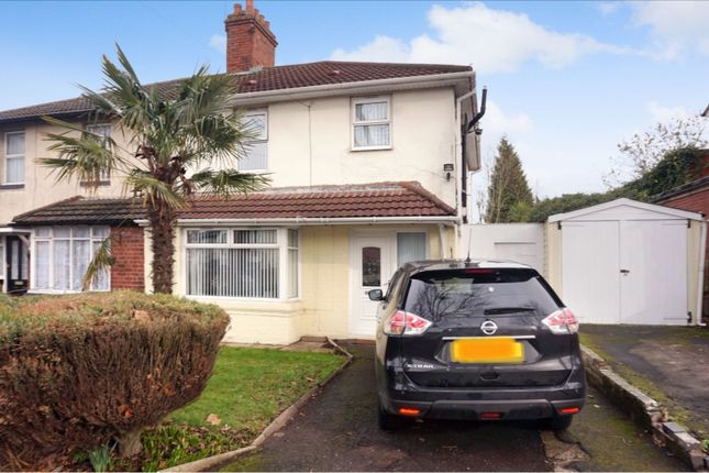 Thumbnail Semi-detached house for sale in Manor Road, Smethwick