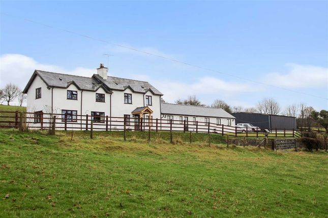 Thumbnail Detached house for sale in Llanfihangel, Llanfyllin