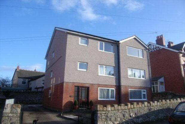 Thumbnail Flat to rent in 3 Woodland Park, Colwyn Bay