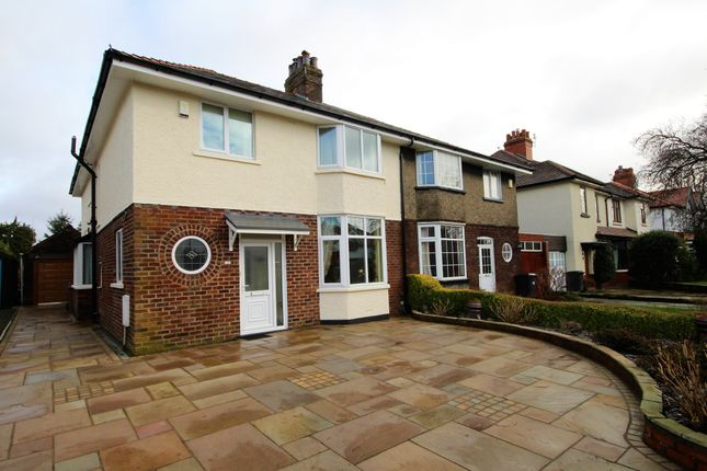 Thumbnail Semi-detached house for sale in Queensway, Penwortham, Preston