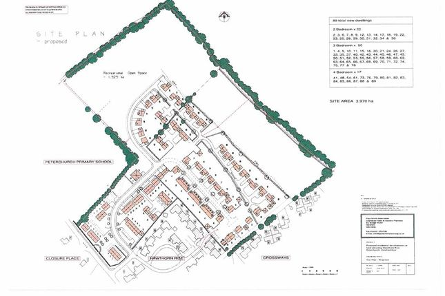 Thumbnail Land for sale in Hawthorn Rise, Peterchurch, Hereford