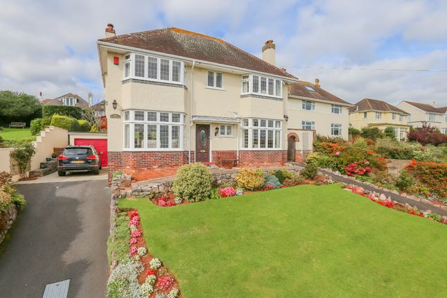 Detached house for sale in Herbert Road, Torquay