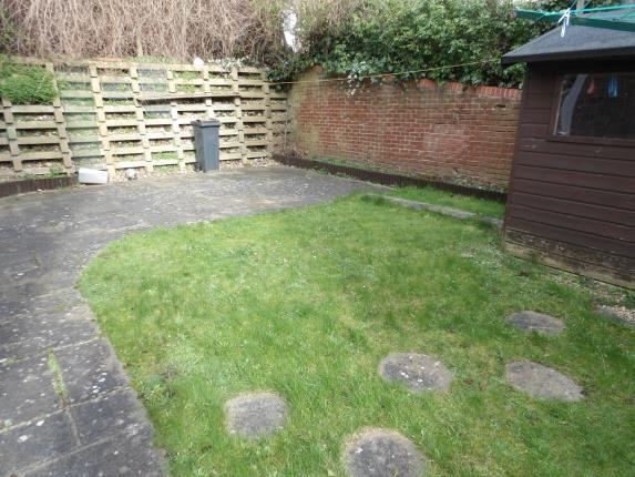 Garden of Peacock Gardens, Selsdon Vale, South Croydon, Surrey CR2