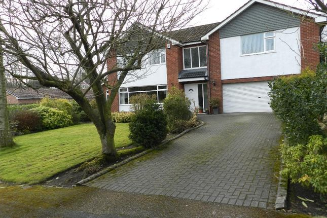 Thumbnail Detached house for sale in The Limes, Culcheth, Warrington