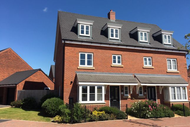 Thumbnail Semi-detached house to rent in Holden Park, Stafford