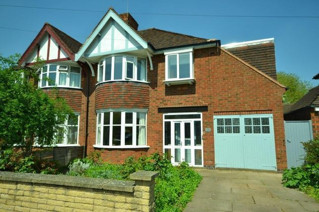 Thumbnail Semi-detached house for sale in Northcote Road, Leicester