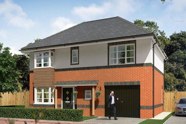 "Thumbnail Detached house for sale in ""The Hanbury With Garage"" at Cobblers Lane, Pontefract"
