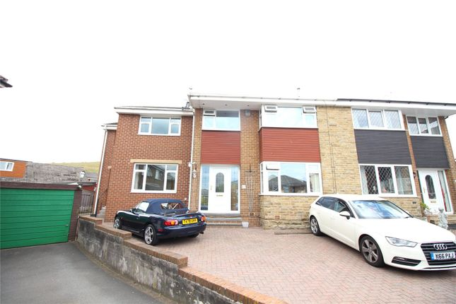 Thumbnail 4 bed semi-detached house for sale in Carr Green Close, Rastrick