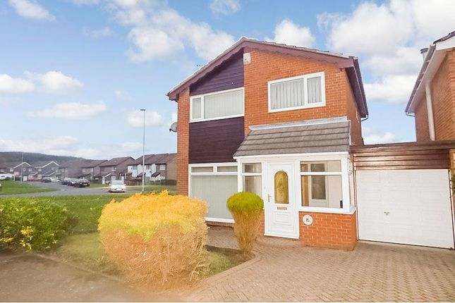Thumbnail Detached house for sale in Arundel Close, Bedlington