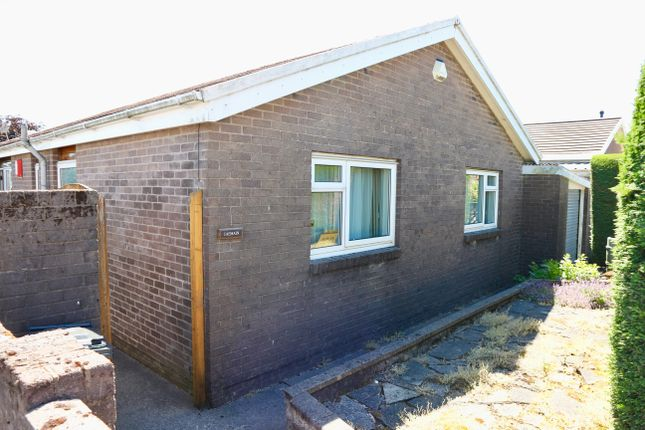 Thumbnail Detached bungalow for sale in Castle Park, Merthyr Tydfil