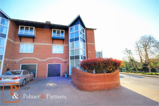 Thumbnail Town house for sale in River House, Bridge Street, Bures