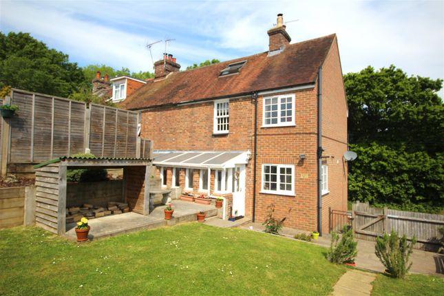 Thumbnail End terrace house for sale in Marley Lane, Battle