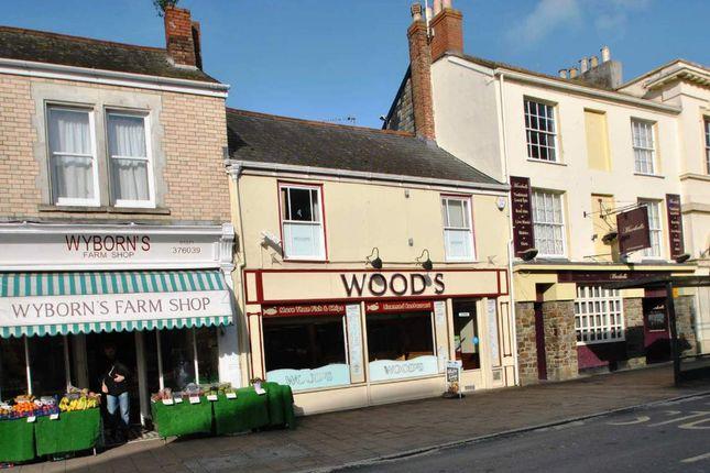 Thumbnail Restaurant/cafe for sale in Boutport Street, Barnstaple, Devon